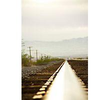 On the rail 2 Photographic Print