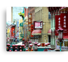 Chinatown - San Francisco Canvas Print