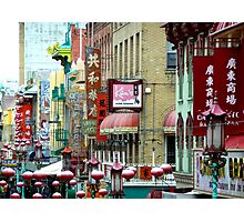 Chinatown - San Francisco Photographic Print