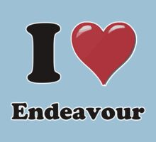 I Heart / Love Endeavour by HighDesign