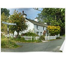 The Cottage On Hawkshead Hill Poster