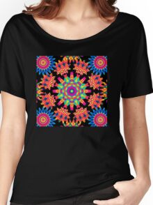 Piezoelectric Mandala Women's Relaxed Fit T-Shirt