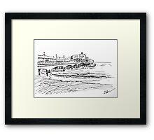 Bournemouth Pier 2012 Framed Print