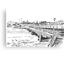 Bournemouth Pier 2012 Canvas Print