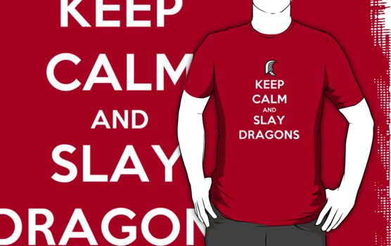 Keep calm and slay dragons by carnivean