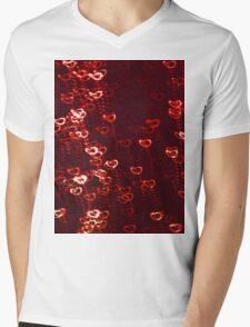 PARIS LOVE (Graffiti) Mens V-Neck T-Shirt