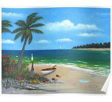 Tropic Calm Poster