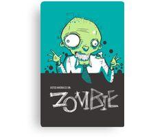 Y-zombie Canvas Print