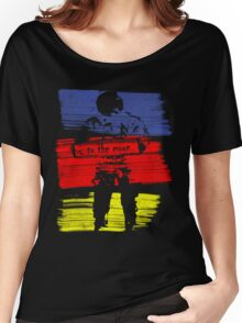 astro stripe Women's Relaxed Fit T-Shirt