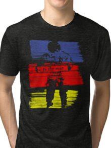 astro stripe Tri-blend T-Shirt