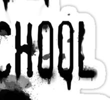 Art School Drop Out Sticker