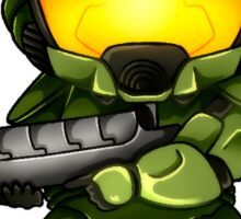 MasterChief - Sticker Sticker