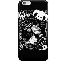 Skyrim Pattern  iPhone Case/Skin