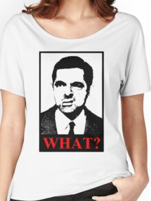 Mr Bean says a what Women's Relaxed Fit T-Shirt