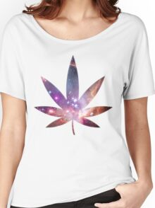 Cosmic Leaf Women's Relaxed Fit T-Shirt
