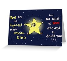 You Are SO Special Greeting Card