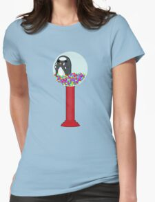 Penguin Machine Womens Fitted T-Shirt