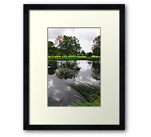 The Wind-swept River Trent, Stapenhill  Framed Print