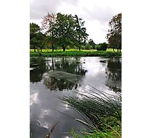 The Wind-swept River Trent, Stapenhill  Photographic Print