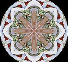 Elephant Parade Kaleidoscope #1 by Roberto Pagani