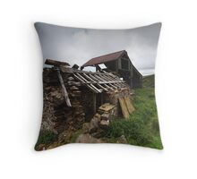 Rookhope - Abandoned Barns Throw Pillow