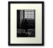Alone - Cork Ireland Framed Print