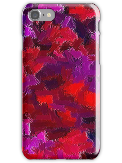 IPHONE CASE - DIGITAL ABSTRACT No. 25 by chompo