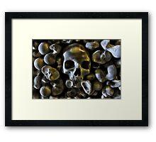 Good Bone Structure Framed Print