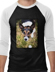 Jessie the Jack Russell Terrier: It's All About the Ball Men's Baseball ¾ T-Shirt