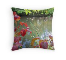 Fowl Weather Throw Pillow