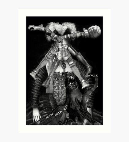 Girl Soldier. Art Print