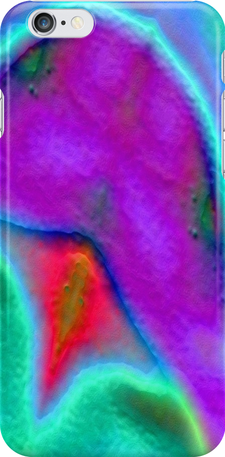 IPHONE CASE - DIGITAL ABSTRACT No. 26 by chompo