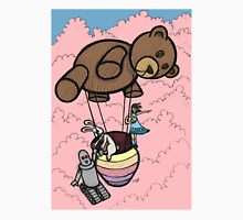 Teddy Bear And Bunny - Cotton Candy Clouds Unisex T-Shirt