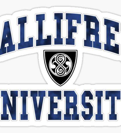 Gallifrey University Sticker