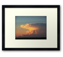 Towering Inferno Framed Print
