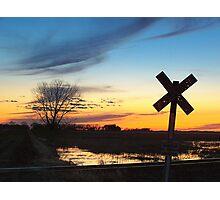 Twilight Crossing Photographic Print