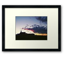 Prairie Parish Framed Print