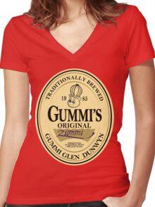 Gummi Stout Women's Fitted V-Neck T-Shirt