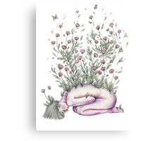 """From my rotting body, flowers shall grow and I am in them and that is eternity."" Canvas Print"