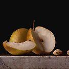 Flemish Pears & Almonds by Rachel Slepekis
