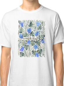 Tropical Wanderlust – Periwinkle Classic T-Shirt