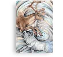 The Hunter and Hunted Metal Print