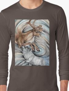 The Hunter and Hunted Long Sleeve T-Shirt