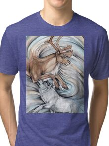 The Hunter and Hunted Tri-blend T-Shirt
