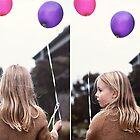 India + Balloons by Kim Jackman