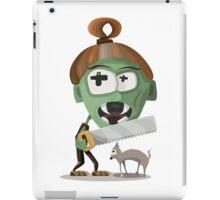 Zombie with Saw iPad Case/Skin