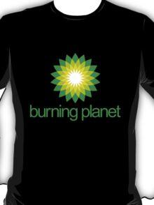 BP - Burning Planet (dark) T-Shirt