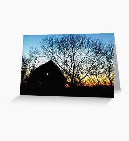 Dark Shadows Greeting Card