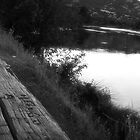 The River Bench by PixByNancy