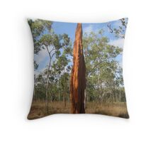 Termite Mounds, Cape York, Qld Throw Pillow